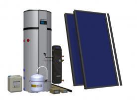 Zestaw solarny HEWALEX 2 TLPAC-PCWU300SK (KS2100)
