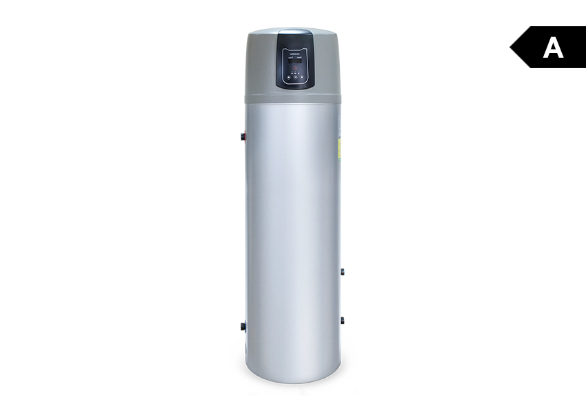Heater with heat pump pcwu 200k heat pumps for for Domestic hot water heaters
