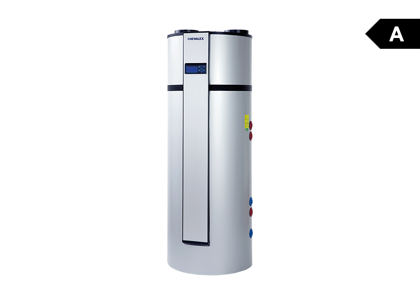 Water heater with pcwu 300sk heat pump heat pumps for Domestic hot water heaters